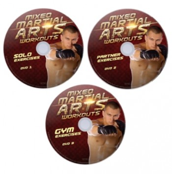 Mixed Martial Arts Workouts – 3 DVD Set