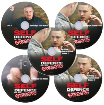 Self Defence For The Streets – 5 DVD Set